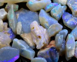 36.20cts lightning ridge crystal opal rough parcel ado-8356