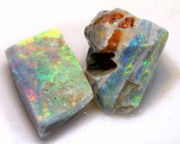 14.35cts Mintabie Opal Rough Parcel ADO-8373