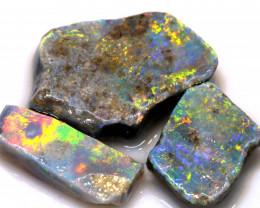 26.70cts Mintabie Opal Rough Parcel ADO-8375