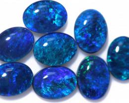 7 Cts Australian Triplet Opals Parcel CCC 3239