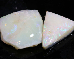 5.70cts lightning ridge  opal rough parcel  ado-8383