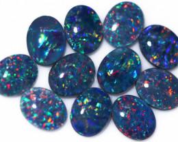 17 Cts Australian Triplet Opals Parcel CCC 3259