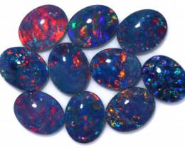 13 Cts Australian Triplet Opals Parcel CCC 3260