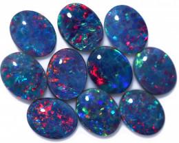 13 Cts Australian Triplet Opals Parcel CCC 3262