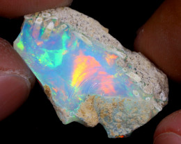 12cts Natural Ethiopian Welo Rough Opal / WR7194