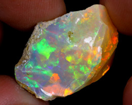 14cts Natural Ethiopian Welo Rough Opal / WR7203