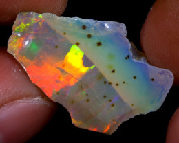 9cts Natural Ethiopian Welo Rough Opal / WR7210