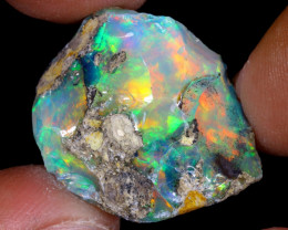 28cts Natural Ethiopian Welo Rough Opal / WR7189