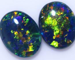 2.50 Cts Australian Triplet Opals Pairs CCC 3281