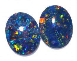 2.50 Cts Australian Triplet Opals Pairs CCC 3287