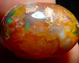 $1 NR Auction 19.68ct Mexican Matrix Cantera Multicoloured Fire Opal