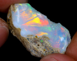 11cts Natural Ethiopian Welo Rough Opal / WR7238