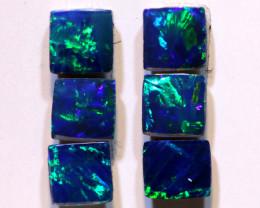 4x4mm Opal Doublet Gem Grade Lot 1.42cts AOH-290
