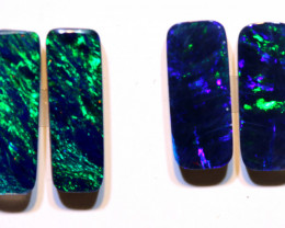 Opal Doublet Gem Grade Lot 4.16cts AOH-291