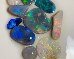 Multicolour Semi Finished Opal Rubs, Great Potential