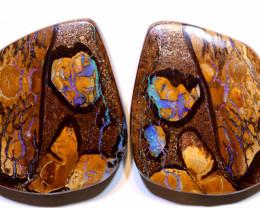 Yowah Opal Polished Pair 66.50Carats AOH-325