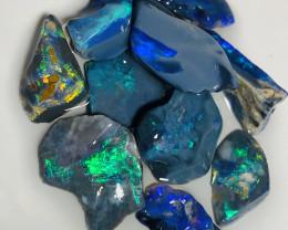 Bright Black Seam Opals- See Video Plz #1038