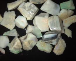 74 Ct Mintabie Opal Parcel