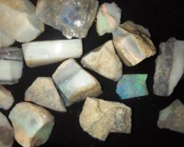 78 Ct Mintabie Opal Parcel