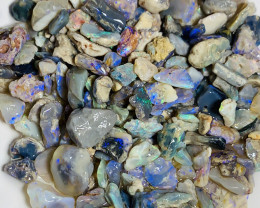 From Tumbler- 380 CTs Rough Nobby With Colours (see below)#1055