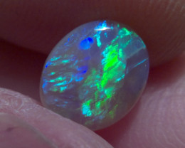 1.00 ct gorgeous Lighting Ridge Solid Crystal Opal,3D Effect