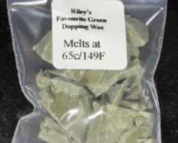 Green Dopping Wax- Riley's Favourite  65C/149F [33161]