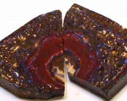 Koroit Boulder Opal Rough 2 pcs  DO-1693