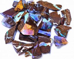 106.54 Carats Boulder Opal Rough Parcel ANO-1768