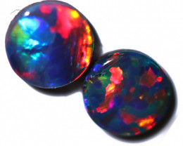 0.87 CTS OPAL DOUBLET PAIRS CALIBRATED  [SEDA7956]