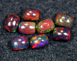 4.50cts Natural Ethiopian Smoked Welo Opal Parcel Lot / HM2479