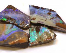 Boulder opal Rough Parcel DOP-135 - downunderopals