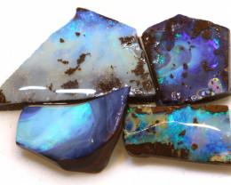 Boulder opal Rough  Parcel DOP-136 - downunderopals