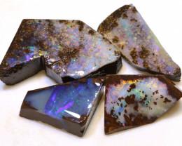 Boulder Opal Faced Rough Parcel * DOP-140  downunderopals