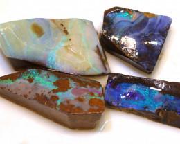 66.10cts  Boulder opal Rough Parcel DOP-141