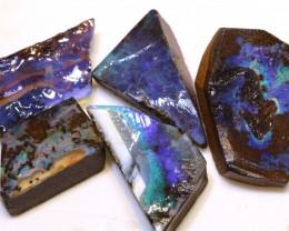 105.95cts  Boulder opal Rough Parcel DOP-144