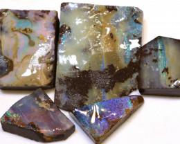 106.10cts  Boulder opal Rough Parcel DOP-145