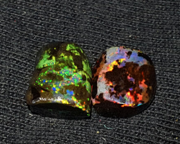 5.00 CRT 2 PCS RARE MICRO COLOR BEAUTIFUL STUNING SPECIMENT INDONESIAN OPAL