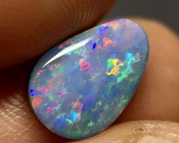 Vivid Rainbow Gem Doublet From Andamooka