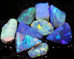 7.40cts lightning ridge opal pre shaped rub ADO-8524