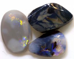 21.10cts lightning ridge opal pre shaped rub ADO-8523