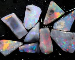 5.75cts lightning ridge opal pre shaped rubS ADO-8574-adopals