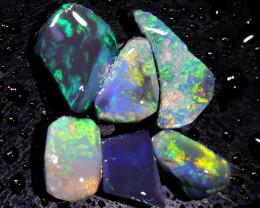 5.60cts lightning ridge opal pre shaped rubs ADO-8577