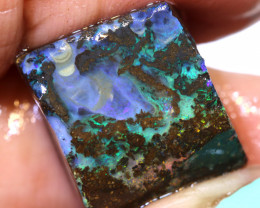16.90 cts boulder opal pre-shaped rub ado-8616