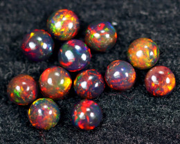 4.15cts Natural Ethiopian Smoked Welo Opal Parcel Lot / HM2496