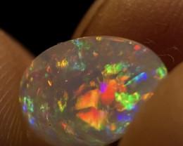GEM Quality 2.275ct Mexican Crystal Opal (OM)