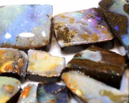 190cts boulder opal rough parcel DT-A4796