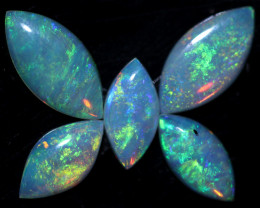 2.47 CTS  WHITE FIRE OPAL PARCEL CALIBRATED [CP7532]