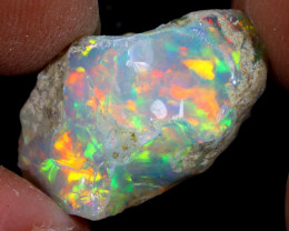12cts Natural Ethiopian Welo Rough Opal / WR7332