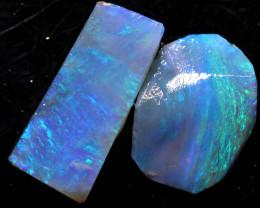 2.05cts lightning ridge opal pre shaped rubs ADO-8656