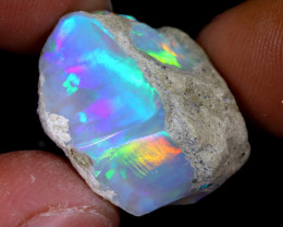 14cts Natural Ethiopian Welo Rough Opal / WR7393